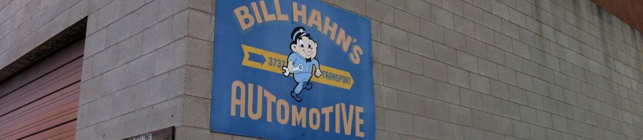 BILL HAHN'S AUTOMOTIVE